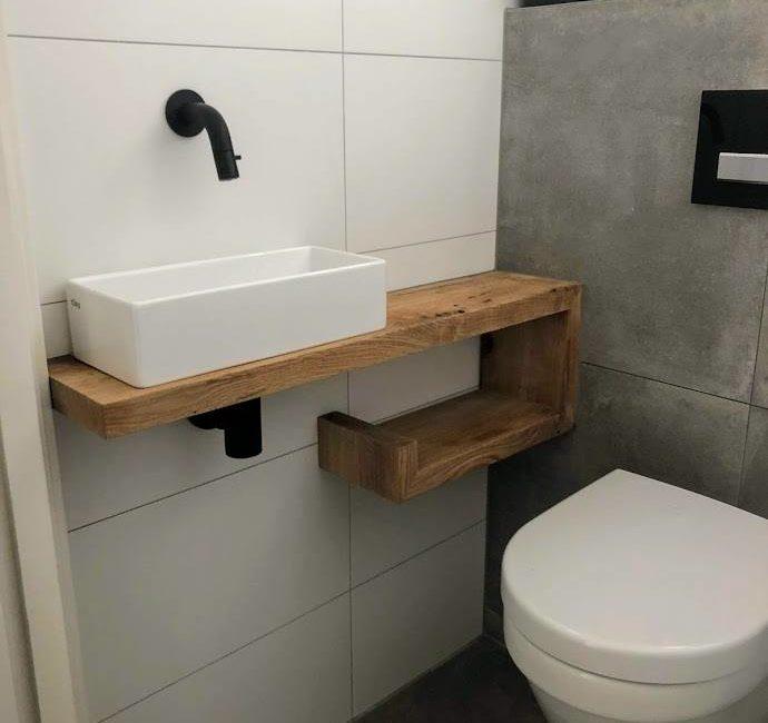 eiken wasmeubel toilet eikenhout mvb interieurs
